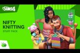 Embedded thumbnail for The Sims 4: Nifty Knitting DLC (PC/MAC)