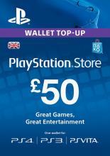 UK PSN 50 GBP Kinkekaart