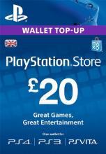 UK PSN 20 GBP Kinkekaart