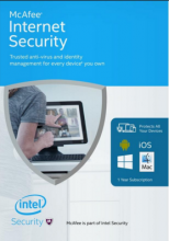 McAfee Internet Security (3 PC - 1 Year)