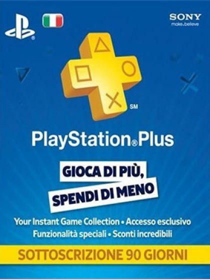 Itaalia PSN Plus 3-Kuu Liikmeaeg