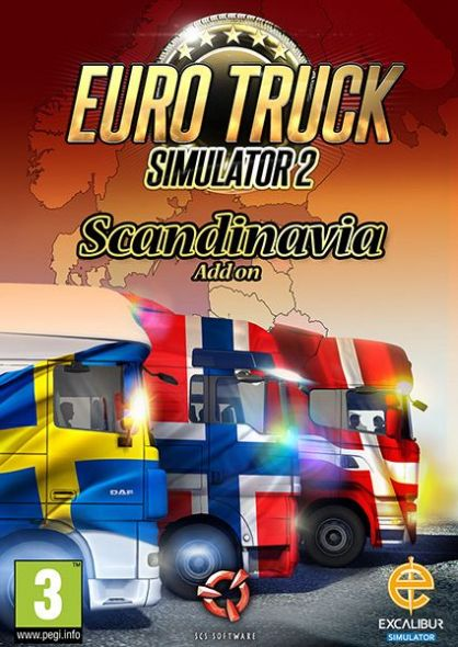 Euro Truck Simulator 2: Scandinavia add-on (PC/MAC)