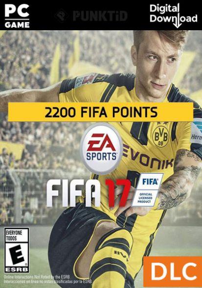 FIFA 17 2200 FUT Punkti (PC)
