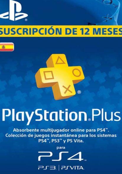 Hispaania PSN Plus 12-Kuu Liikmeaeg
