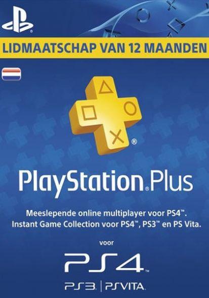 Holland PSN Plus 12-Kuu Liikmeaeg