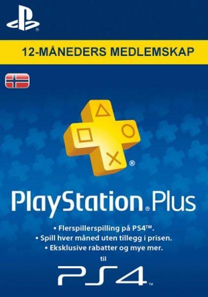 Norra PSN Plus 12-Kuu Liikmeaeg