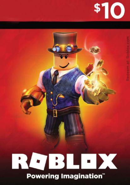 Roblox Game Card USD 10 Rahakaart 24/7 tarne e mailile