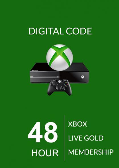 Xbox Live 48 Tundi Kuld Liikmeaeg (Xbox One & 360)