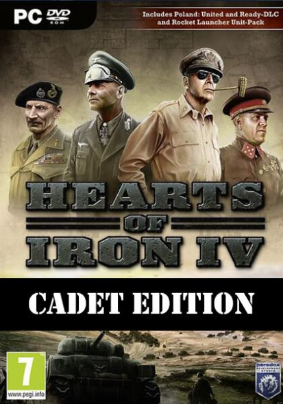 Hearts of Iron IV - Cadet Edition (PC)