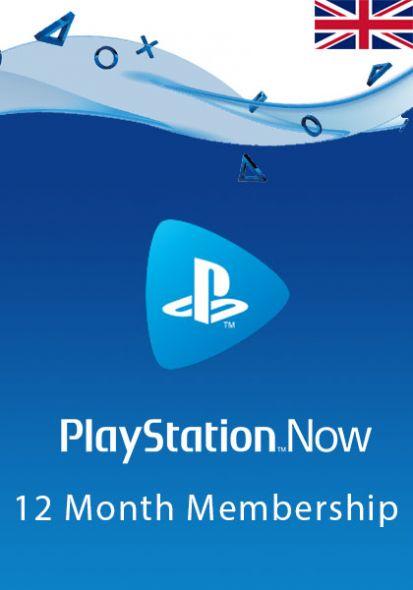 UK PlayStation Now 12-Kuu Liikmeaeg