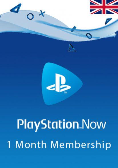 UK PlayStation Now 1-Kuu Liikmeaeg