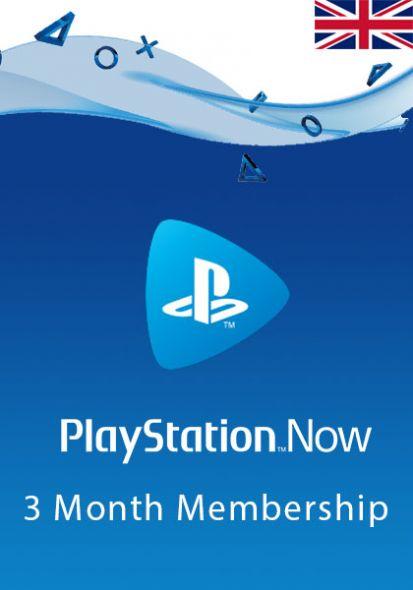 UK PlayStation Now 3-Kuu Liikmeaeg
