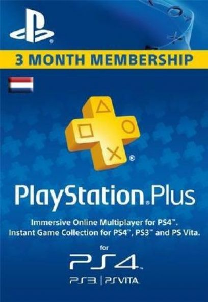 Holland PSN Plus 3-Kuu Liikmeaeg