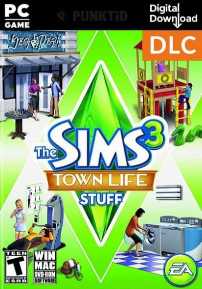 The Sims 3 Town Life Stuff (PC/MAC)