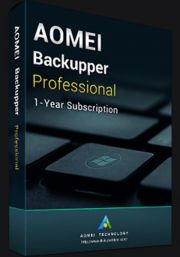 AOMEI Backupper professional Edition (1aasta) (PC)