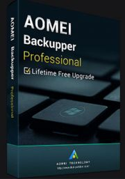 AOMEI Backupper Professional Edition + Lifetime Upgrade (PC)