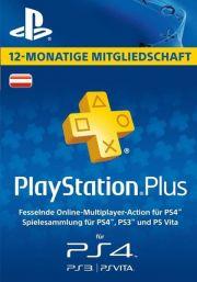 Austria PSN Plus 12-Kuu Liikmeaeg