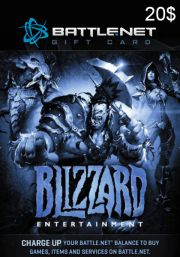 BattleNet 20 Dollar Kinkekaart