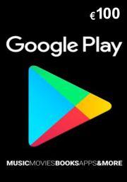 Google Play 100 Euro Kinkekaart