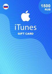 iTunes Venemaa 1500 RUB Kinkekaart