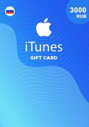 iTunes Venemaa 3000 RUB Kinkekaart