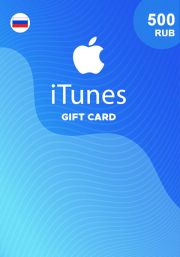 iTunes Venemaa 500 RUB Kinkekaart