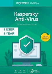 Kaspersky Anti-Virus 2019 (1 Kasutaja, 1 Aasta)