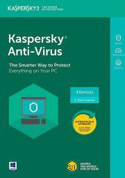 Kaspersky Anti-Virus 2021 (3 Kasutajat, 1 Aasta)