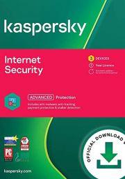 Kaspersky Internet Security Multi-Device 2021 (3 Kasutajat, 1 Aasta)