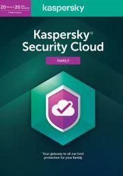 Kaspersky Security Cloud (20 Kasutajat / 1 Aasta)