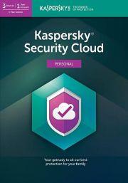 Kaspersky Security Cloud (3  Kasutajat / 1 Aasta)