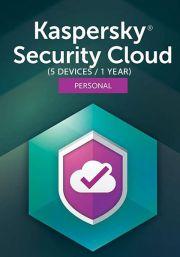 Kaspersky Security Cloud (5 Kasutajat / 1 Aasta)