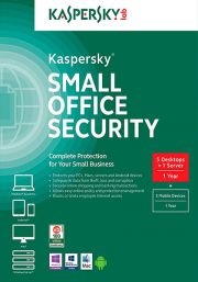 Kaspersky Small Office Security 4 (5 Kasutajat / 1 Aasta)