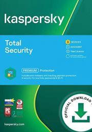 Kaspersky Total Security 2021 (3 Kasutajat / 1 Aasta)