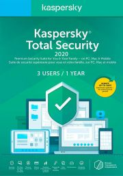 Kaspersky Total Security 2020 (3 Kasutajat / 1 Aasta)