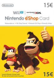 EU Nintendo 15 Euro eShop Kinkekaart