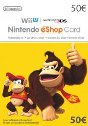 EU Nintendo 50 Euro eShop Kinkekaart