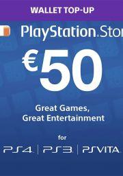 Iirimaa PSN 50 EUR Kinkekaart