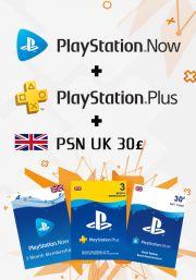 UK PSN 3 Kuu Kombo
