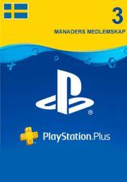 Rootsi PSN Plus 3-Kuu Liikmeaeg