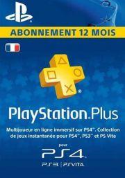 Prantsusmaa PSN Plus 12-Kuu Liikmeaeg