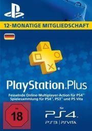 Saksamaa PSN Plus 12-Kuu Liikmeaeg