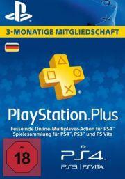 Saksamaa PSN Plus 3-Kuu Liikmeaeg