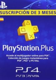 Hispaania PSN Plus 3-Kuu Liikmeaeg