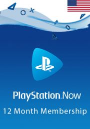 USA PlayStation Now 12-Kuu Liikmeaeg