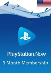 USA PlayStation Now 3-Kuu Liikmeaeg