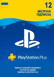 Ukraina PSN Plus 12-Kuu Liikmeaeg