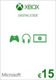 EU Xbox 15 Euro Kinkekaart (Xbox One & 360)