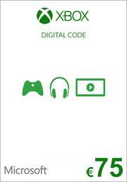 EU Xbox 75 Euro Kinkekaart (Xbox One & 360)