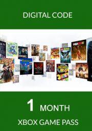Xbox Game Pass 1 Kuu Liikmeaja Proovikood
